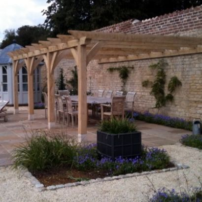 Bespoke oak garden buildings structures and rustic for Rustic gazebo kits